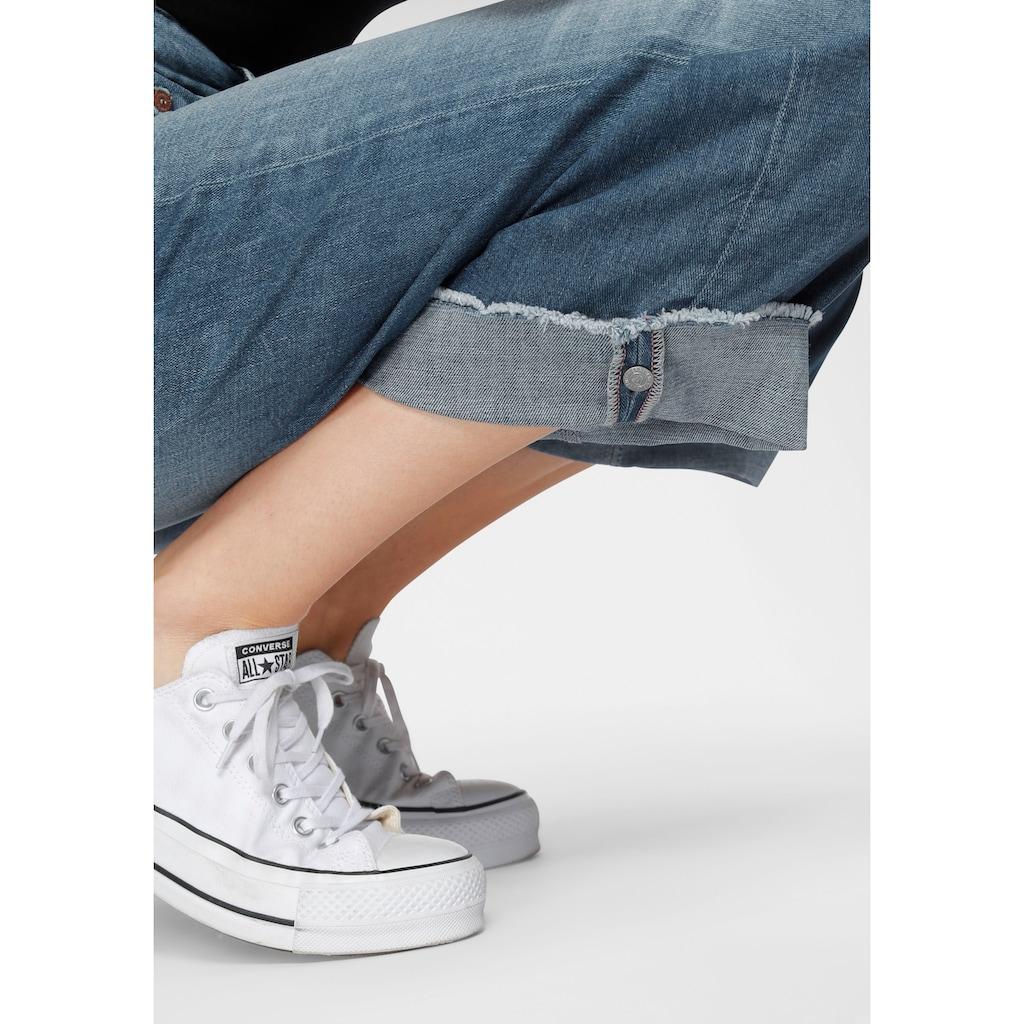 Herrlicher Weite Jeans »MÄZE«, New Cut: als Cropped oder Schlagjeans tragbar