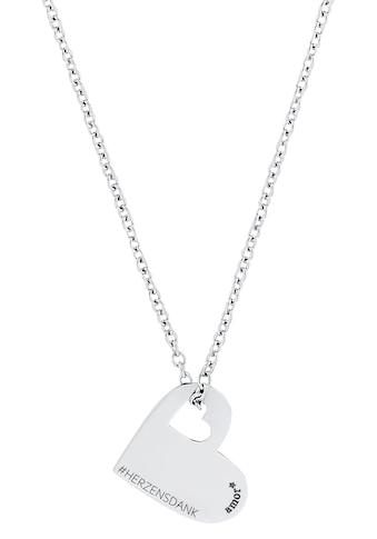 Amor Kette mit Anhänger »Herz Herzensdank, 2028528« kaufen