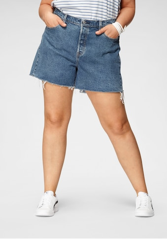 Levi's® Plus Jeansshorts »501 Original Short«, im Destroyed- Look kaufen