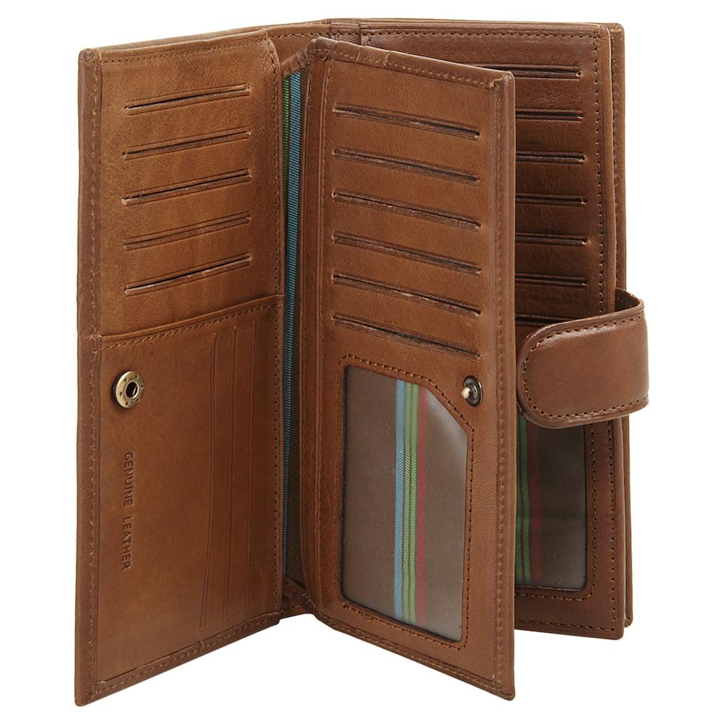 Piké Geldbörse, 3fach klappbar