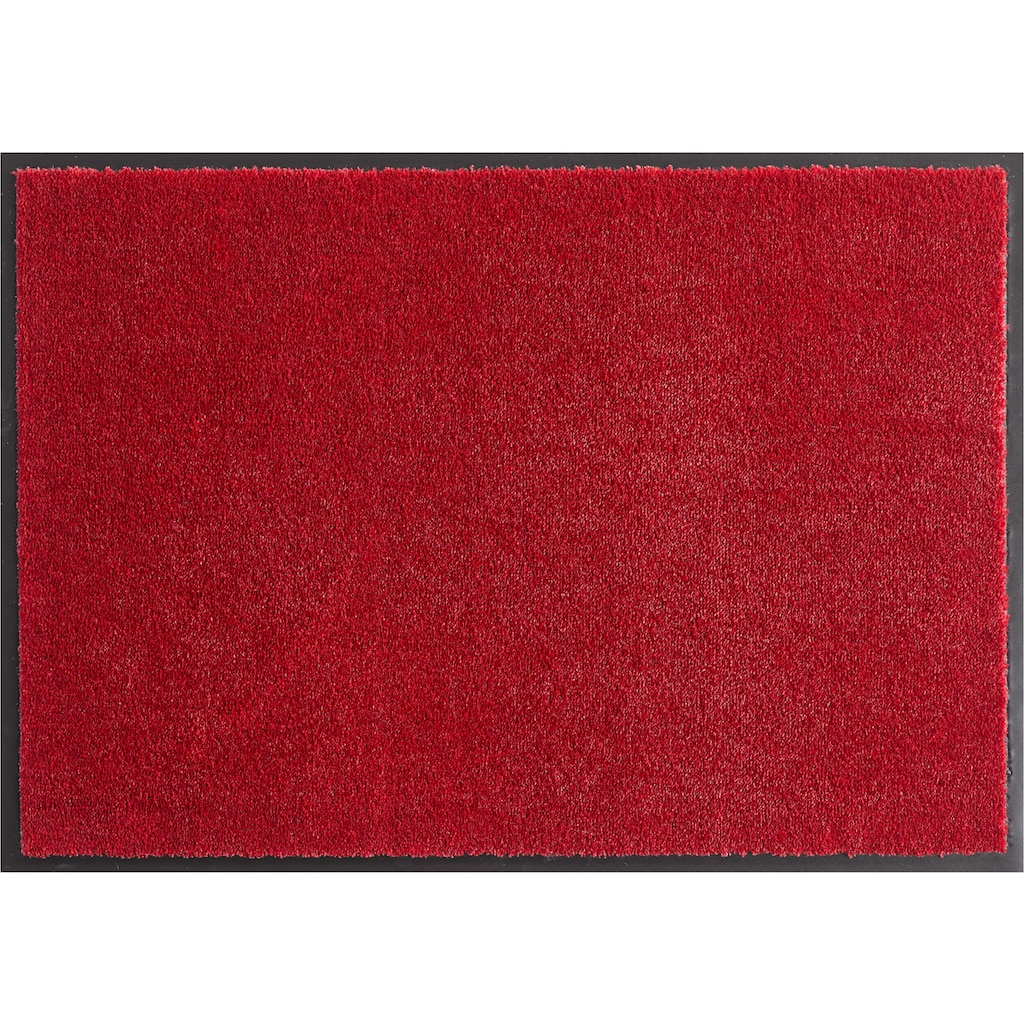 HANSE Home Fussmatte »Deko Soft«, rechteckig, 7 mm Höhe, Schmutzfangmatte, saugfähig, waschbar