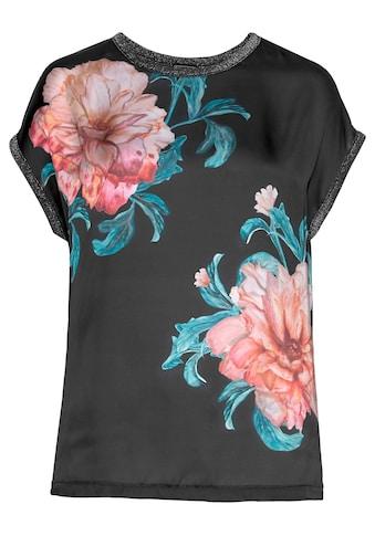 Laura Scott Blusenshirt, mit Blumenprint vorne kaufen