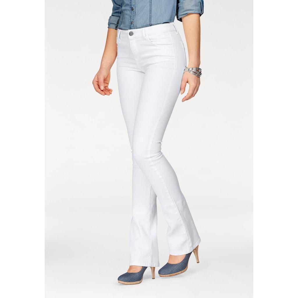 Arizona Bootcut-Jeans »Ultra-Stretch«, Mid-Waist