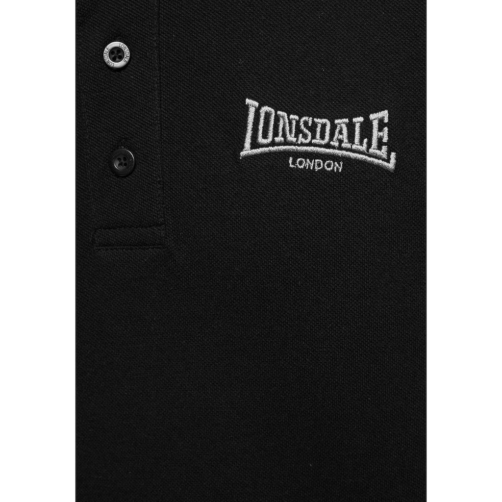 Lonsdale Poloshirt »CAUSTON«, Mit Logostickerei
