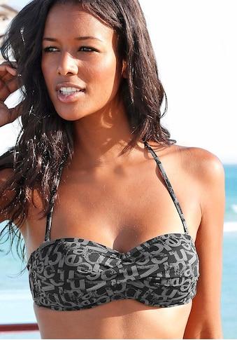 Venice Beach Bandeau-Bikini-Top »Karibik«, mit coolem Alloverprint kaufen