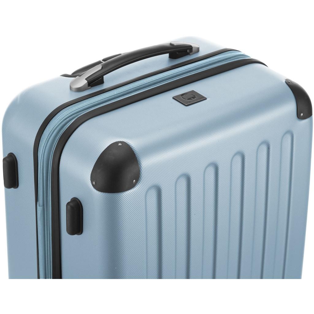 Hauptstadtkoffer Hartschalen-Trolley »Spree, 65 cm, pool blue«, 4 Rollen