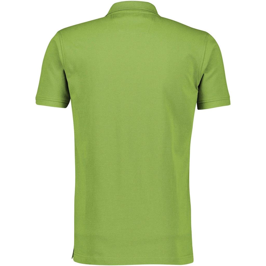LERROS Poloshirt, mit dezenter Stickerei auf der Brust