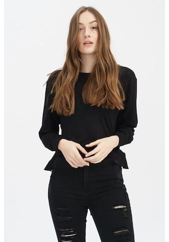 trueprodigy Langarmshirt »Adriane«, mit tiefem Rückenausschnitt und Schnürung kaufen