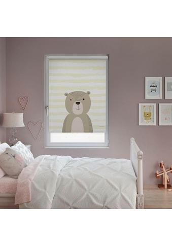 Lüttenhütt Seitenzugrollo »Bär«, verdunkelnd, ohne Bohren, im Fixmass kaufen