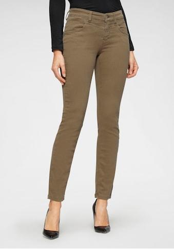 MAC Slim-fit-Jeans »Dream Slim«, Fromgebender Sattel vorne und im Rücken kaufen
