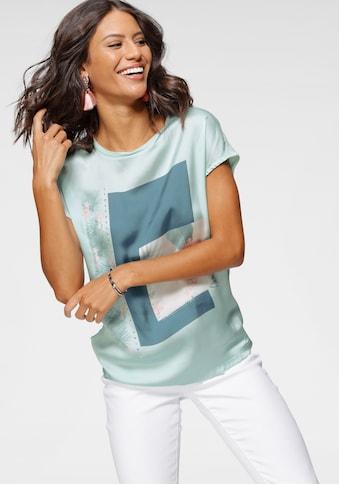 Laura Scott Shirtbluse, mit dekorativen Glitzersteinen kaufen