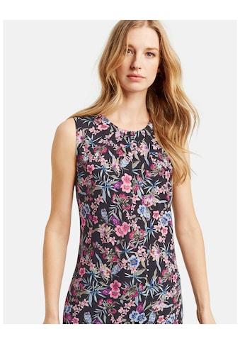 Taifun Bluse ohne Arm »Ärmellose Bluse mit Blumen - Print« kaufen