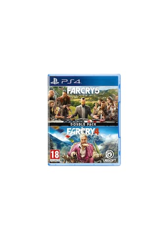 UBISOFT Spiel »Far Cry 4 + Far Cry 5 Double Pack«, PlayStation 4, Standard Edition kaufen
