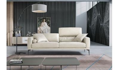 Egoitaliano 2,5-Sitzer »Masu«, Kopfteile/Rueckenkissen manuell verstellbar, mit... kaufen
