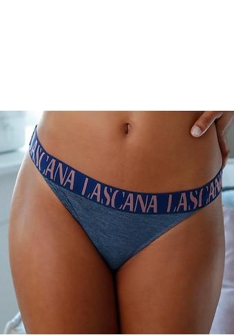 LASCANA ACTIVE String, mit breitem Logogummi kaufen