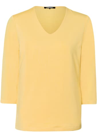 Olsen V-Shirt, Basic-Baumwollshirt kaufen