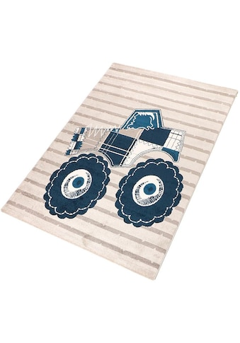Living Line Kinderteppich »Truck«, rechteckig, 12 mm Höhe, Spielteppich, Kinderzimmer kaufen