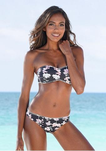 Sunseeker Bikini-Hose »Ditsy«, in knapper Brasilien Form und mit Häkelkante kaufen