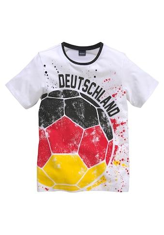 Arizona T-Shirt »Fussball / Deutschland«, mit Druck kaufen