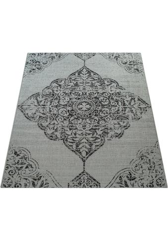 Paco Home Teppich »Coco 202«, rechteckig, 4 mm Höhe, Flachgewebe, In- und Outdoor geeignet, Wohnzimmer kaufen