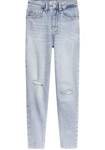 TOMMY JEANS Mom - Jeans »MOM JEAN HR TPRD CNLBCD« kaufen