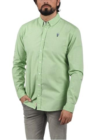 Blend Langarmhemd »20708485«, Hemd mit Knopfleiste kaufen
