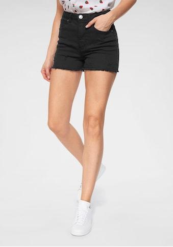 AJC Shorts, aus Jeansqualität mit Destroyed Effekten kaufen