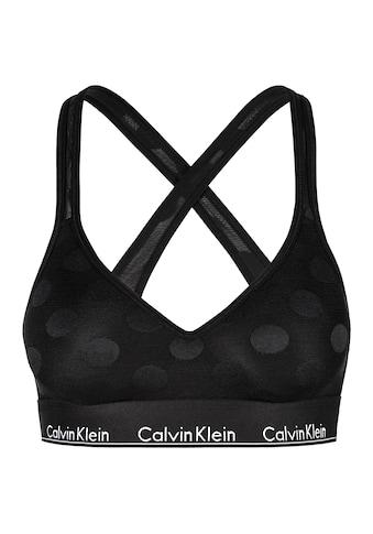 Calvin Klein Bustier »MODERN COTTON DOT« kaufen