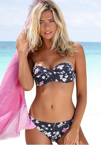 LASCANA Bügel-Bandeau-Bikini, mit Wickeloptik kaufen