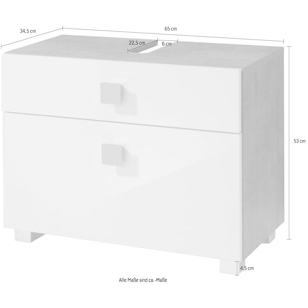 Schildmeyer Waschbeckenunterschrank »Quadra«