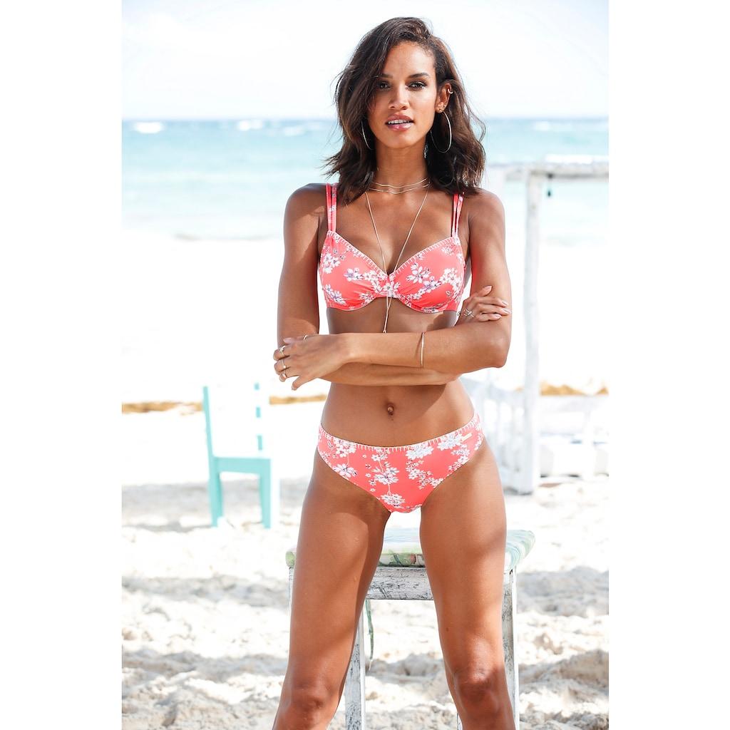 Sunseeker Bügel-Bikini-Top »Ditsy«, mit Häkelkante