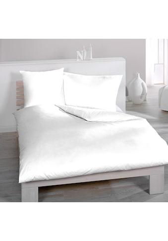 HOME FASHION Bettwäsche »Uni-Halbleinen« kaufen
