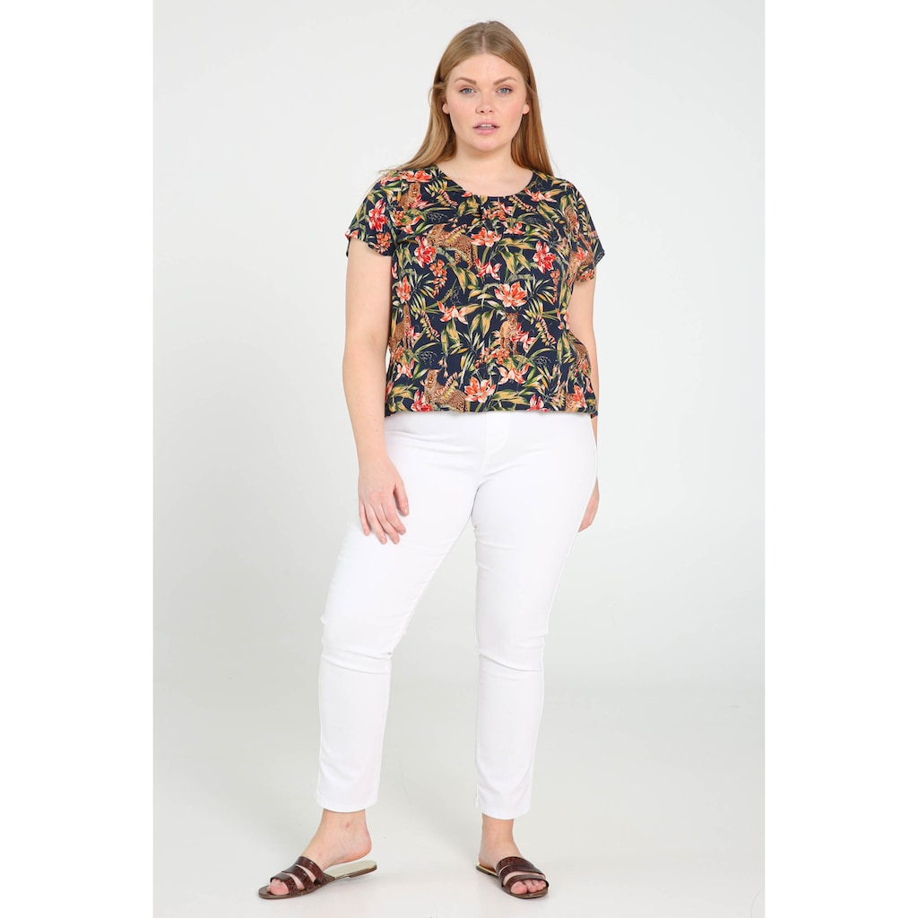 Paprika Jeggings »Uniform Gummizug in der Taille casual«, casual
