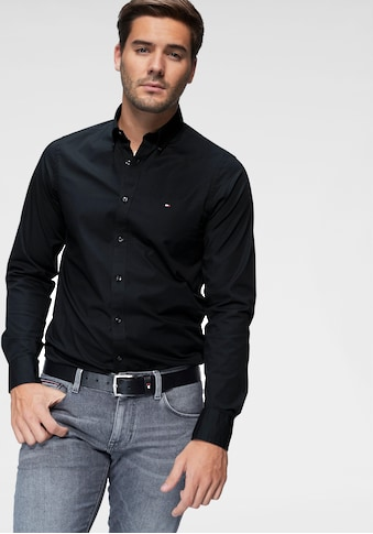 TOMMY HILFIGER Langarmhemd »CORE STRETCH SLIM FIT POPLIN SHIRT« kaufen