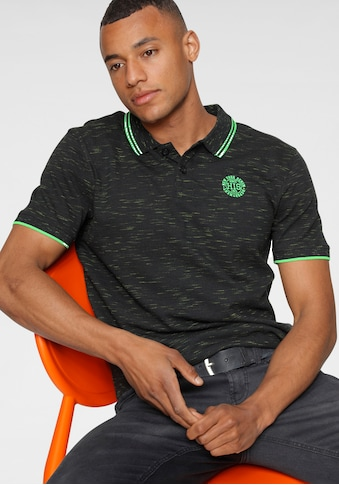 H.I.S Poloshirt, in markanter Melange Optik kaufen