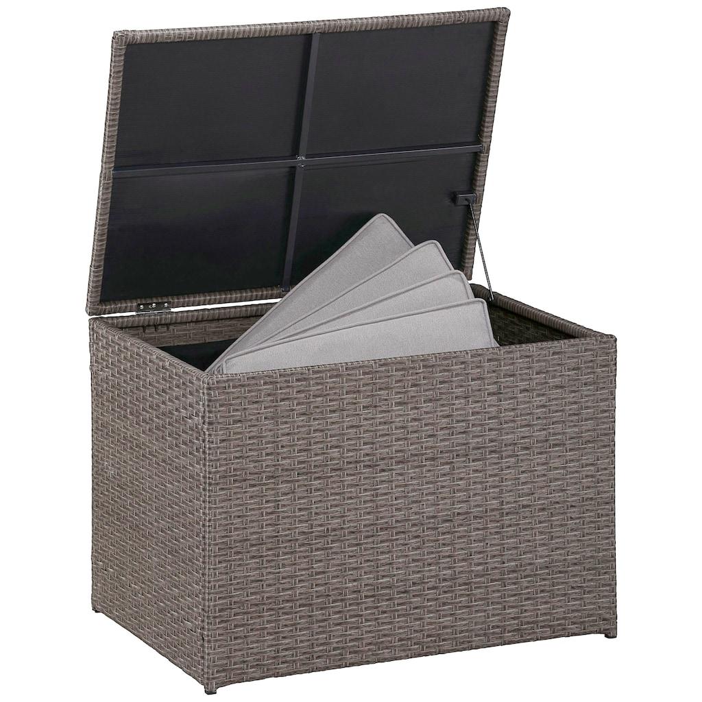 KONIFERA Auflagenbox »Mailand klein«, Polyrattan