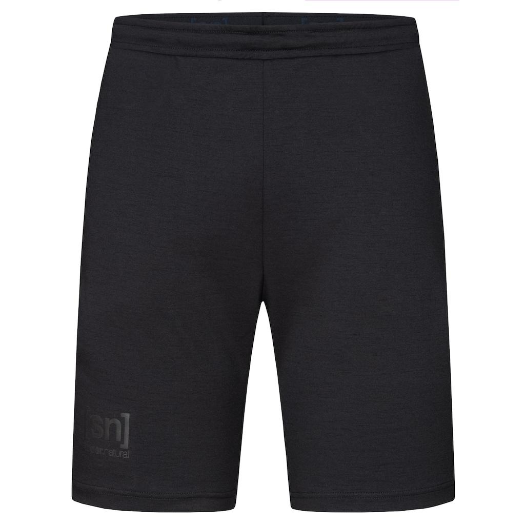 SUPER.NATURAL Shorts »M MOVEMENT SHORTS«, optimaler Merino-Materialmix