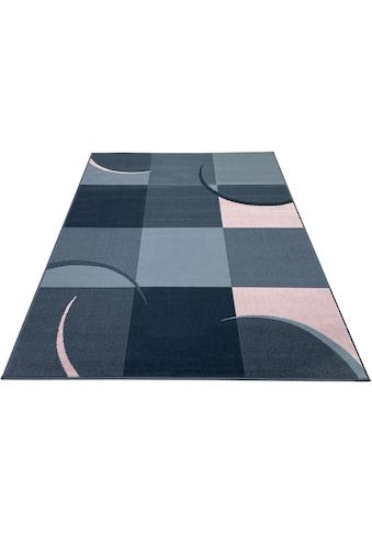 my home Teppich »Dylan«, rechteckig, 7 mm Höhe, weiche Haptik, Wohnzimmer kaufen