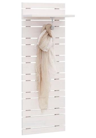 Home affaire Garderobenpaneel »Jossy«, aus massiver Kiefer, Breite 40 cm kaufen