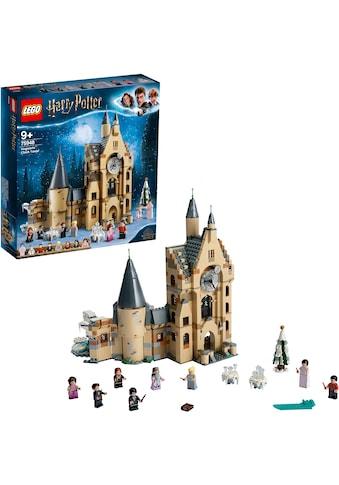 LEGO® Konstruktionsspielsteine »Hogwarts™ Uhrenturm (75948), LEGO® Harry Potter«, (922... kaufen