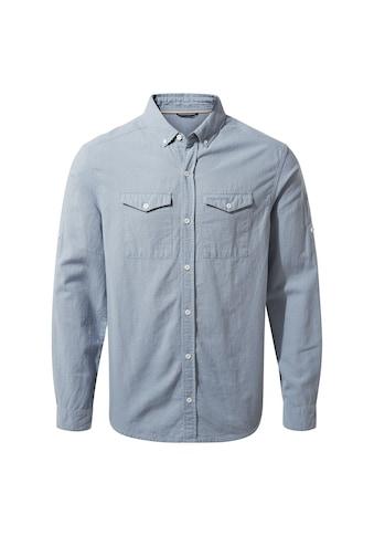 Craghoppers Leinenhemd »Herren Leinenheimd Kiwi langärmlig« kaufen