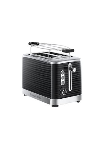 RUSSELL HOBBS Toaster »Inspire 24371-56 Schwarz«, 2 kurze Schlitze, für 2 Scheiben,... kaufen