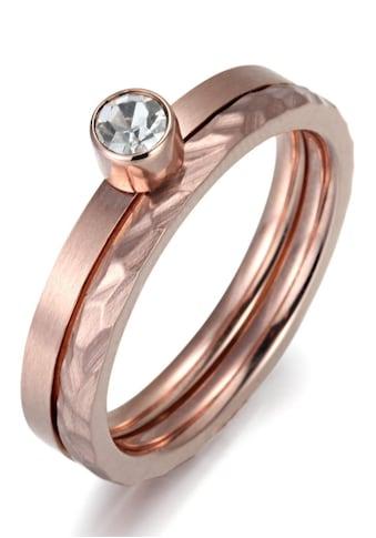 Firetti Ring-Set »4,00 mm, glänzend und matt, teilweise strukturiert, einzeln... kaufen