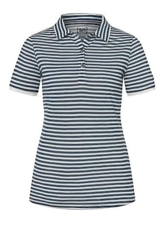 SUPER.NATURAL Poloshirt »W MATELOT POLO«, lässig maritimer Look, feinster... kaufen