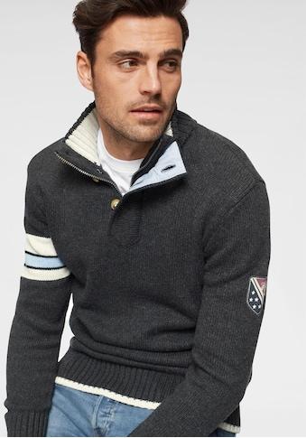 TOM TAILOR Polo Team Stehkragenpullover kaufen