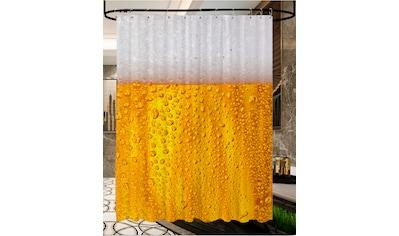 Sanilo Duschvorhang »Bier«, Breite 180 cm, Höhe 200 cm kaufen