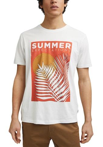 edc by Esprit T-Shirt, mit grossem Frontprint kaufen
