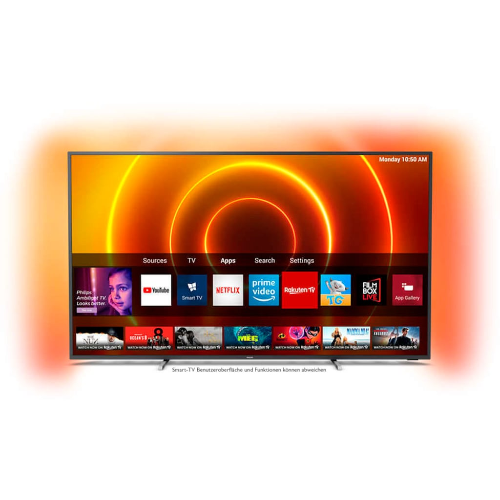 "Philips LED-Fernseher »70PUS7805/12«, 178 cm/70 "", 4K Ultra HD, Smart-TV"