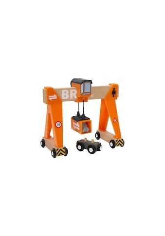 BRIO® Spielzeugeisenbahn-Erweiterung »BRIO® WORLD Container-Verladekran« kaufen