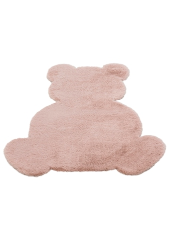 Lüttenhütt Kinderteppich »Teddy«, Motivform, 25 mm Höhe, Kaninchenfell-Haptik kaufen